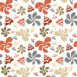 Abstract colorful floral background, seamless pattern Royalty Free Stock Photography