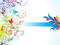 Abstract colorful floral background Royalty Free Stock Image