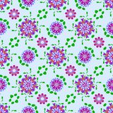Abstract colorful floral pattern. Texture background. Stock Photo