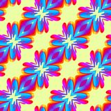 Abstract colorful floral pattern. Texture background. Stock Images