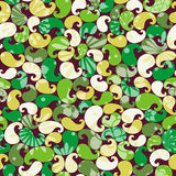 Abstract colorful floral seamless pattern Royalty Free Stock Image