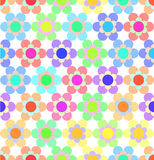 Abstract Colorful Floral Seamless Pattern. Vector Royalty Free Stock Photo