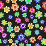 Abstract Colorful Floral Seamless Pattern. Vector Royalty Free Stock Photos