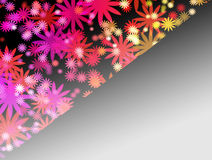 Abstract colorful flower background Royalty Free Stock Images