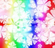 Abstract colorful flower background Stock Photos