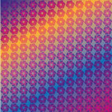 Abstract colorful flower pattern. For web and graphic projects Royalty Free Stock Photography