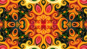 Abstract and colorful flowery design. Can be used as background, website or wallpaper or for other possibilities vector illustration