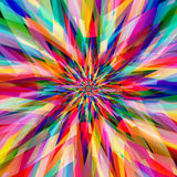 Abstract colorful fractal art background. Abstract colorful fashion and beauty concept futuristic background Stock Images