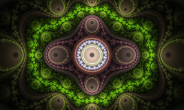 Abstract colorful fractal background. Abstract geometric colorful fractal background Royalty Free Stock Photos
