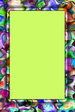 Abstract colorful frame Royalty Free Stock Photography
