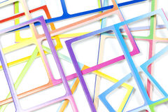 Abstract colorful frame background Royalty Free Stock Photos