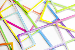 Abstract colorful frame background Royalty Free Stock Images