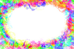 Abstract colorful frame Stock Images