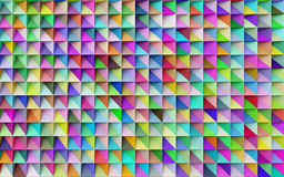 Abstract colorful geometric background Royalty Free Stock Photos