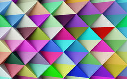 Abstract colorful geometric background Royalty Free Stock Photography