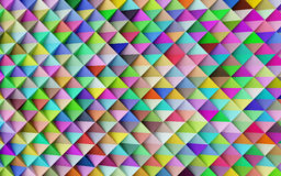 Abstract colorful geometric background Royalty Free Stock Image