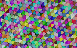 Abstract colorful geometric background Stock Images