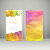 Abstract colorful geometric background banner Stock Photography
