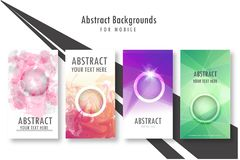 Modern Vector abstract brochure, book, flyer or design template royalty free illustration