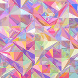 Abstract colorful geometric background Royalty Free Stock Photo