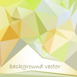 Abstract colorful geometric background. Background of green. This is file of EPS8 format Royalty Free Stock Photos