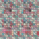 Abstract colorful geometric background with triangles. Royalty Free Stock Photo