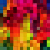 Abstract colorful geometric background. Vector illustration. Eps 10 Stock Photography