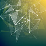Abstract colorful geometric low poly background Royalty Free Stock Photo