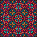 Abstract colorful geometric mosaic pattern. Festive Colorful Tribal ethnic seamless vector pattern ornamental. Geometric muticolor print Stock Images