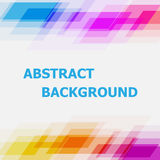 Abstract colorful geometric overlapping background Royalty Free Stock Photography
