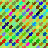 Abstract colorful geometric seamless pattern Stock Photo