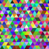 Abstract colorful geometric seamless pattern. Of triangles stock illustration