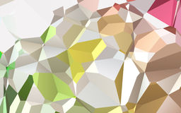 Abstract colorful geometric triangles background, polygonal design. Stock Images