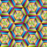 Abstract colorful  geometrical background Royalty Free Stock Photography
