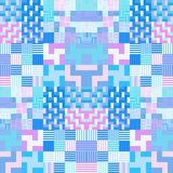 Abstract colorful geometrical tileable background Stock Image