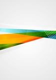 Abstract colorful geometry shapes design Stock Image