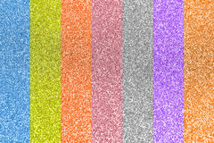 Abstract colorful glitter Stock Image