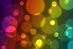 Abstract colorful glittering light bokeh effect background image. A Abstract colorful glittering light bokeh effect background image Stock Image