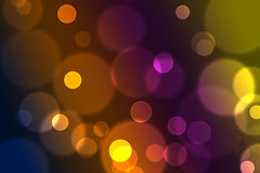 Abstract colorful glittering light bokeh effect background image. A Abstract colorful glittering light bokeh effect background image Royalty Free Stock Photos