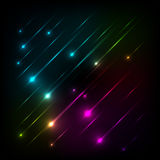 Abstract colorful glow background vector Royalty Free Stock Image