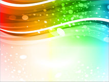 Abstract colorful glowing background Royalty Free Stock Images