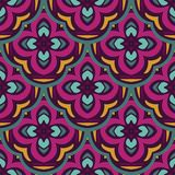 Abstract colorful gothic geometric ethnic seamless pattern ornamental stock images