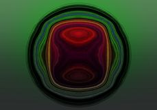 Abstract green-red background Royalty Free Stock Photography
