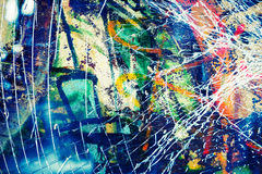 Abstract colorful grunge background texture Stock Photography
