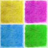 Abstract colorful grunge backgrounds Royalty Free Stock Photography
