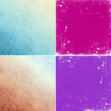Abstract colorful grunge backgrounds Stock Image