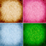 Abstract colorful grunge backgrounds Royalty Free Stock Photos