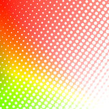 Abstract colorful halftone background Stock Images