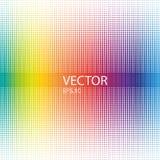 Abstract colorful halftone dots horizontal. Vector design Royalty Free Stock Photos