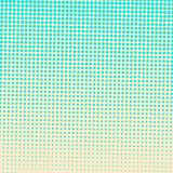 Abstract colorful halftone dots horizontal vector. Illustration Stock Images